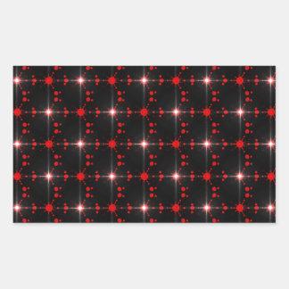 Cosmic Stars Rectangular Sticker