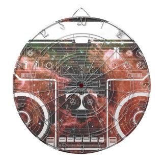 Cosmic Stereo Dartboard