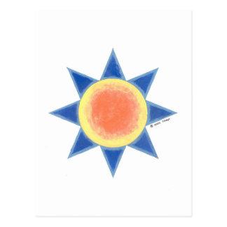 Cosmic Sun Postcard