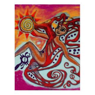 Cosmic Sunshine Postcard