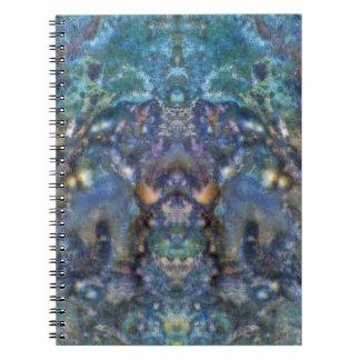 Cosmic Superhero Spiral Notebooks