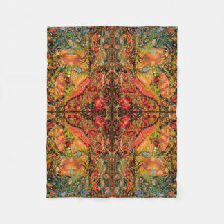 Cosmic Taste of Healing Fine Art Fleece Blanket