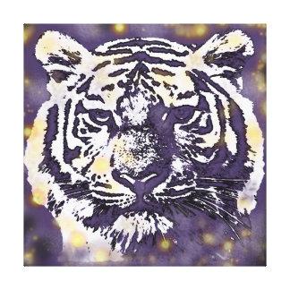 Cosmic Tiger Canvas Prints