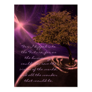 Cosmic Tree of Life Postcard