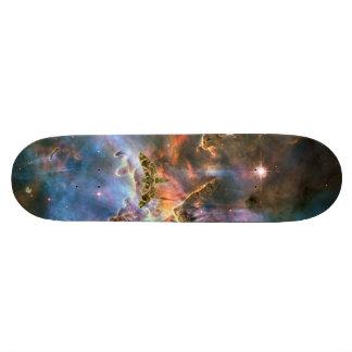 Cosmic Triangle Design 20.6 Cm Skateboard Deck