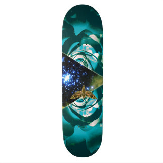 Cosmic Triangle Design Skateboard Decks