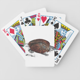 Cosmic turtle 1 bicycle playing cards