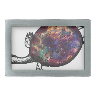 Cosmic turtle 3 belt buckle