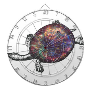 Cosmic turtle 3 dartboard