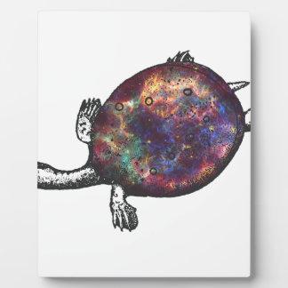 Cosmic turtle 3 plaque