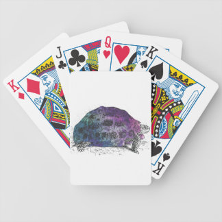 Cosmic turtle 4 bicycle playing cards