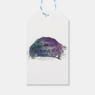 Cosmic turtle 4 gift tags