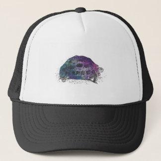Cosmic turtle 4 trucker hat