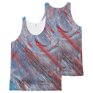 Cosmic Twist All Over Print Tank All-Over Print Tank Top