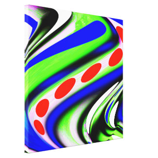 Cosmic twist canvas print