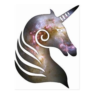 Cosmic Unicorn Post Card