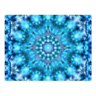 Cosmic Window Mandala Postcard