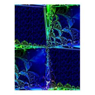 Cosmic Windowpane Post Card