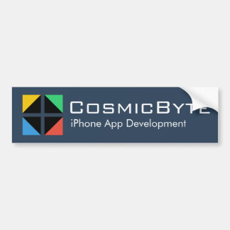 CosmicByte Car Bumper Sticker