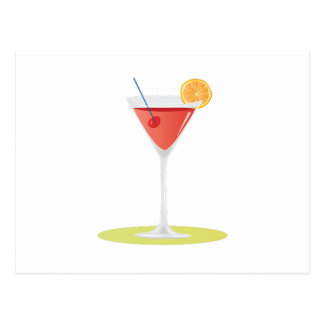 Cosmo Drink Postcard