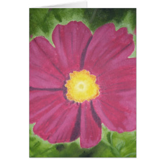 Cosmo Flower Card