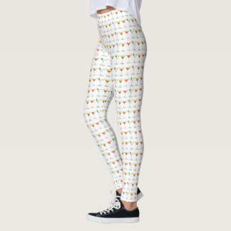 Cosmo Martini Manhattan Cocktail Mixed Drinks Leggings