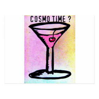 COSMO TIME PASTEL SKETCH by Jill Postcard