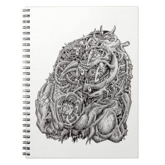 Cosmographic Head by Brian Benson Notebooks