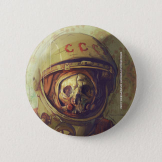 Cosmonaut Button