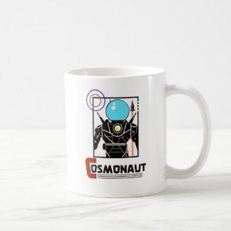 Cosmonaut Basic White Mug