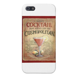 cosmopolitan cocktail recipe iPhone 5 case