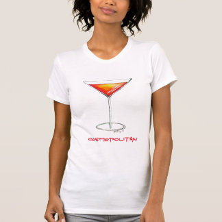 Cosmopolitan Cocktail Tee Shirt