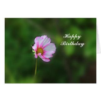 Cosmos Birthday Card