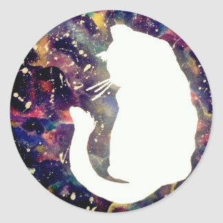 Cosmos Cat Sticker