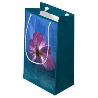 Cosmos Flower Small Gift Bag
