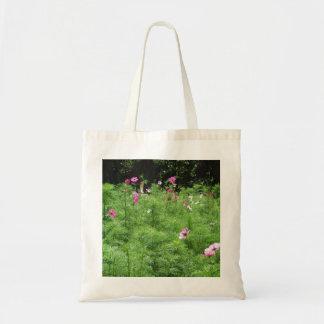 Cosmos Flowers Tote Bag
