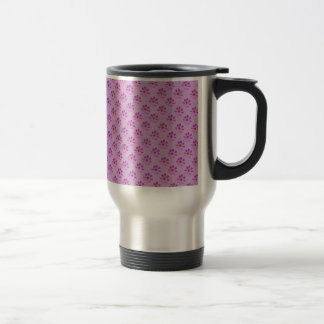 Cosmos Flowers with pink background Coffee Mug