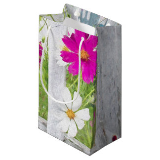 Cosmos Garden Impressionism Art Small Gift Bag