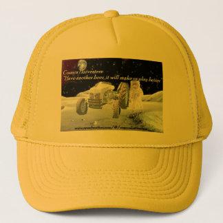 Cosmos Harvesters beer hat