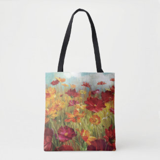Cosmos in the Field 2 Tote Bag