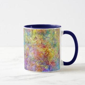 """Cosmos"" Mug Fine Art Colorful"