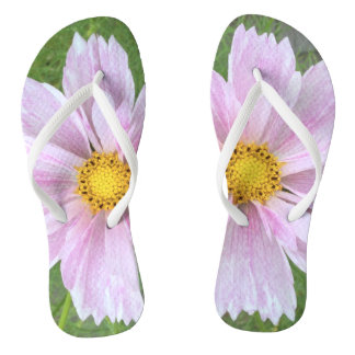 Cosmos - Pale Pink & Green --- Thongs