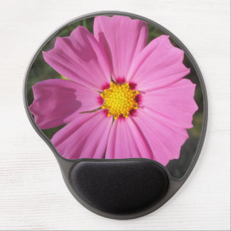 Cosmos Pink Flower Gel Mouse Mats