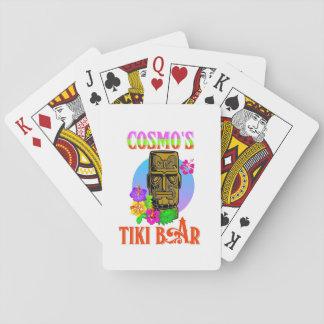 Cosmo's Tiki Bar Playing Cards