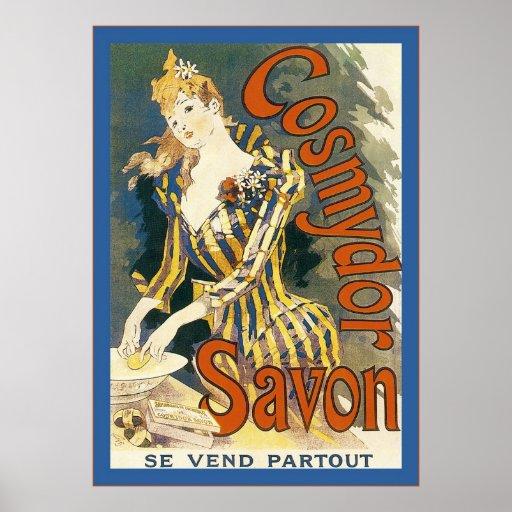 Cosmydor Savon ~ Vintage French Advertising Print
