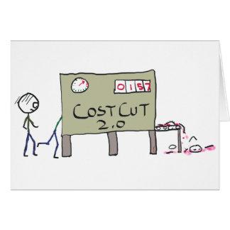 Cost Cutting Card