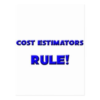 Cost Estimators Rule! Postcard