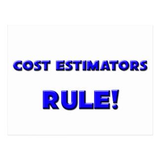 Cost Estimators Rule! Postcards