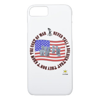 Cost of war iPhone 7 case
