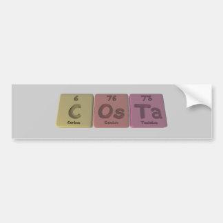 Costa-C-Os-Ta-Carbon-Osmium-Tantalum.png Bumper Sticker